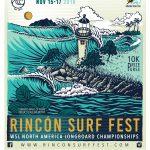 Rincon Surf Fest Poster Art 2019